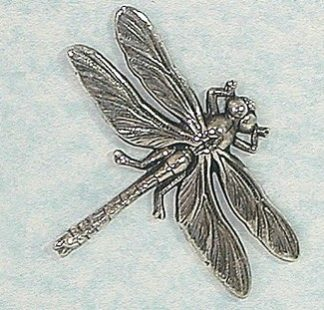 50mm Dragonfly brooch