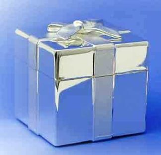 silver plated jewel box