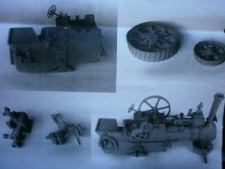 agricultural engine assembly stages