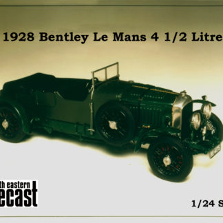model kit of Bentley 4 1/2 liter
