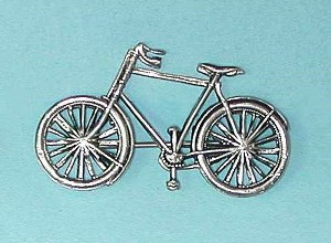 brooch of a bicycle