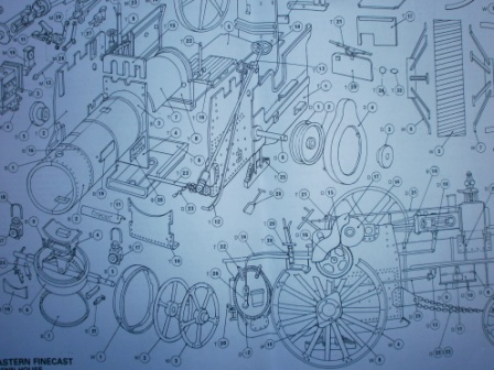 traction engine assembly instructions