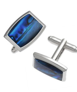 elliptical cufflinks