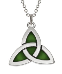 celtic knot pendant on chain