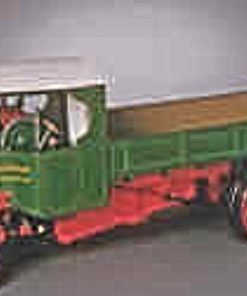Foden c steam wagon